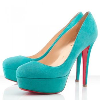 Replica Christian Louboutin Bianca 120mm Platforms Caraibes Cheap Fake Shoes