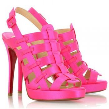 Replica Christian Louboutin Paquita 120mm Sandals Rose Matador Cheap Fake Shoes