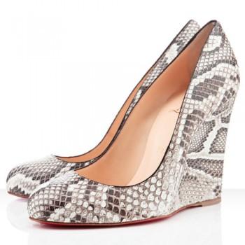 Replica Christian Louboutin Ron Ron Zeppa 80mm Wedges Roccia Cheap Fake Shoes