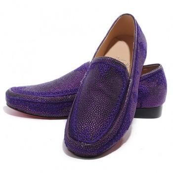 Replica Christian Louboutin Croc Maroc Loafers Parme Cheap Fake Shoes