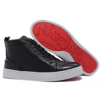 Replica Christian Louboutin Rantus Orlato Sneakers Black Cheap Fake Shoes