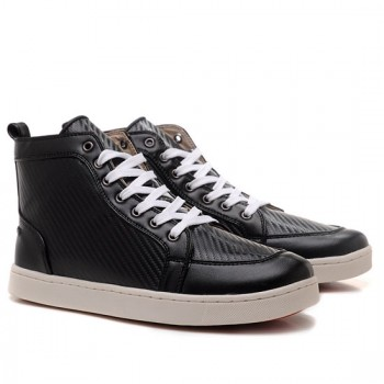 Replica Christian Louboutin Rantulow Sneakers Black Cheap Fake Shoes