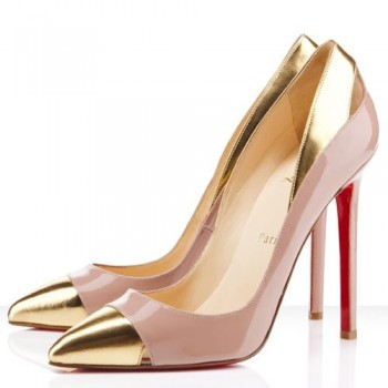Replica Christian Louboutin Duvette 120mm Pumps Nude Cheap Fake Shoes