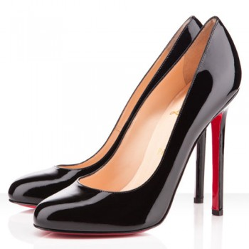 Replica Christian Louboutin Lady Lynch 120mm Pumps Black Cheap Fake Shoes