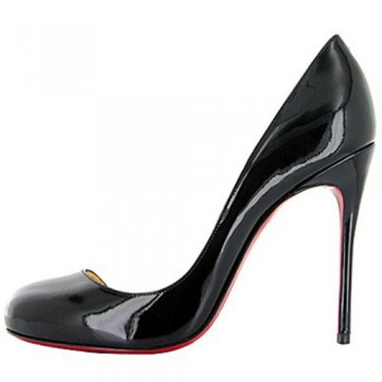 Replica Christian Louboutin Helmour 100mm Pumps Black Cheap Fake Shoes
