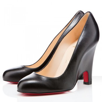 Replica Christian Louboutin Morphing 100mm Pumps Black Cheap Fake Shoes