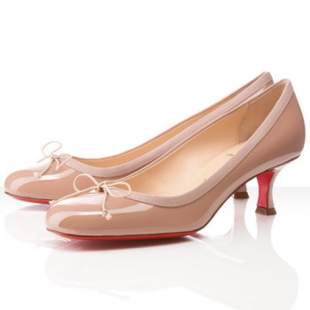 Replica Christian Louboutin Marcia Balla 40mm Pumps Nude Cheap Fake Shoes