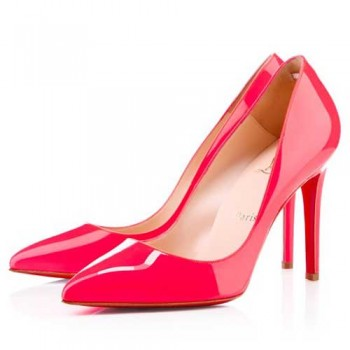 Replica Christian Louboutin Pigalle 100mm Pumps Red Cheap Fake Shoes
