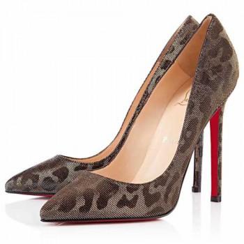 Replica Christian Louboutin Pigalle 120mm Pumps Leopard Cheap Fake Shoes