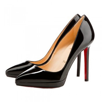 Replica Christian Louboutin Pigalle Plato 120mm Pumps Black Cheap Fake Shoes