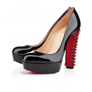 Replica Christian Louboutin Taclou 140mm Platforms Black Cheap Fake Shoes
