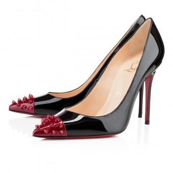 Replica Christian Louboutin Geo 100mm Pumps Leopard Cheap Fake Shoes