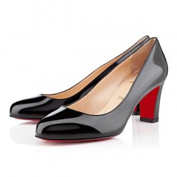Replica Christian Louboutin Mistica 60mm Pumps Black Cheap Fake Shoes