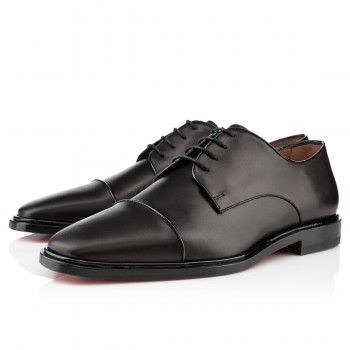 Replica Christian Louboutin Bruno Orlato Loafers Black Cheap Fake Shoes