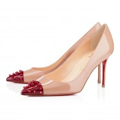 Christian Louboutin Geo 80mm Pumps Nude
