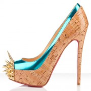 Replica Christian Louboutin Asteroid 140mm Platforms Caraibes Cheap Fake Shoes