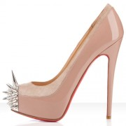 Replica Christian Louboutin Asteroid 140mm Platforms Nude Cheap Fake Shoes