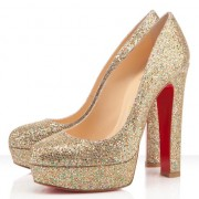 Replica Christian Louboutin Bianca 140mm Platforms Multicolor Cheap Fake Shoes