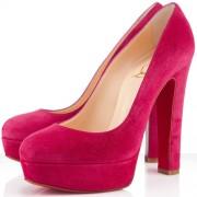Replica Christian Louboutin Bianca 140mm Platforms Rose Paris Cheap Fake Shoes