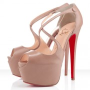 Replica Christian Louboutin Exagona 160mm Sandals Corde Cheap Fake Shoes