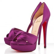 Replica Christian Louboutin Volpi 140mm Sandals Parme Cheap Fake Shoes