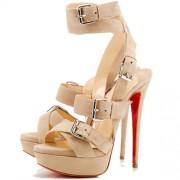 Replica Christian Louboutin Toutenkaboucle 140mm Sandals Corde Cheap Fake Shoes