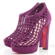 Replica Christian Louboutin Cousinetta 140mm Sandals Parme Cheap Fake Shoes