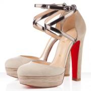 Replica Christian Louboutin La Favorita 140mm Sandals Corde Cheap Fake Shoes
