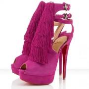 Replica Christian Louboutin Change Of The Guard 140mm Sandals Rose Matador Cheap Fake Shoes