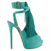Replica Christian Louboutin Change Of The Guard 140mm Sandals Caraibes Cheap Fake Shoes