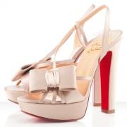 Replica Christian Louboutin Disconoeud 140mm Sandals Pink Cheap Fake Shoes