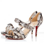 Replica Christian Louboutin Atalanta 80mm Sandals Corde Cheap Fake Shoes