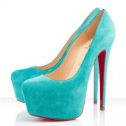 Replica Christian Louboutin Daffodile 160mm Platforms Caraibes Cheap Fake Shoes