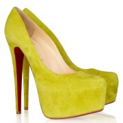 Replica Christian Louboutin Daffodile 160mm Platforms Canari Cheap Fake Shoes