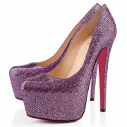 Replica Christian Louboutin Daffodile 160mm Platforms Parme Cheap Fake Shoes