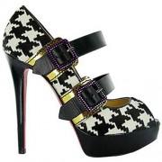 Replica Christian Louboutin Bikiki 140mm Mary Jane Pumps Black Cheap Fake Shoes