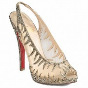 Replica Christian Louboutin Maralena 140mm Special Occasion Crystal Cheap Fake Shoes