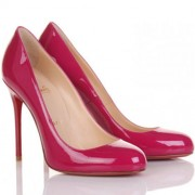 Replica Christian Louboutin Fifi 100mm Pumps Pink Cheap Fake Shoes