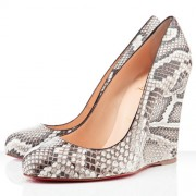 Replica Christian Louboutin Ron Ron Zeppa 80mm Wedges Roccia Cheap Fake Shoes