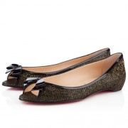 Replica Christian Louboutin Milady Ballerinas Black Cheap Fake Shoes