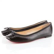 Replica Christian Louboutin Rosella Ballerinas Black Cheap Fake Shoes