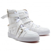 Replica Christian Louboutin Spacer Sneakers White Cheap Fake Shoes