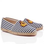 Replica Christian Louboutin Papi Hugo Sandals Navy Cheap Fake Shoes