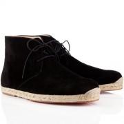 Replica Christian Louboutin Cadaques Sandals Black Cheap Fake Shoes