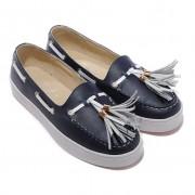 Replica Christian Louboutin Biarritz Sandals Blue Cheap Fake Shoes