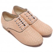 Replica Christian Louboutin Alfredo Loafers Nude Cheap Fake Shoes