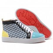 Replica Christian Louboutin Rantus Orlato Sneakers Blue Cheap Fake Shoes