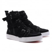 Replica Christian Louboutin Spacer Sneakers Brown Cheap Fake Shoes