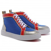 Replica Christian Louboutin Rantulow Sneakers Multicolor Cheap Fake Shoes