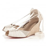 Replica Christian Louboutin Cortico 80mm Wedges Classic Cheap Fake Shoes